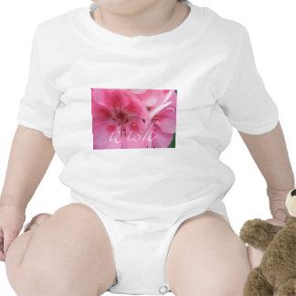 Wish Pink Geranium Flower Baby T-Shirt