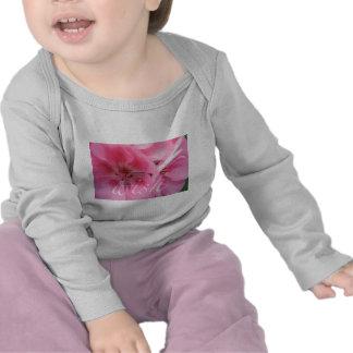 Wish Pink Geranium Flower Long Sleeve T-Shirt