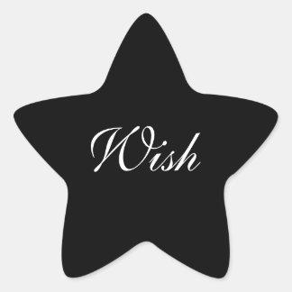 Wish Star Sticker