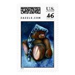 'Wish' Teddy Bear Postage