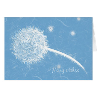 Wish upon a dandelion Happy Birthday Greeting Card