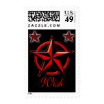 Wish upon a nautical star postage stamp