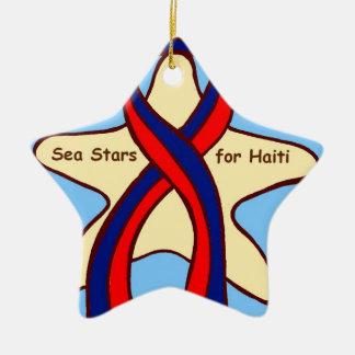 Wish upon a Sea Star! Christmas Tree Ornament