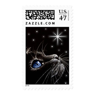 Wish Upon A Star Blue Postage