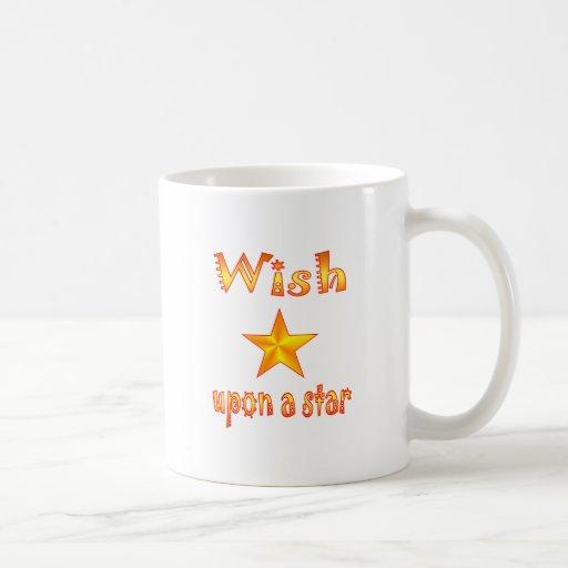 Wish Upon a Star Classic White Coffee Mug