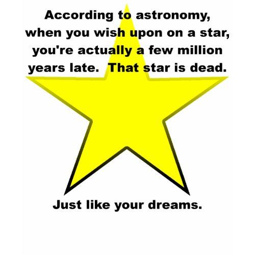 Wish Upon A Star Funny T-Shirt zazzle_shirt