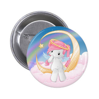 Wish upon a star pinback button