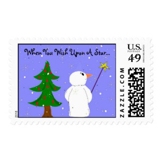 Wish Upon A Star Postage Stamp