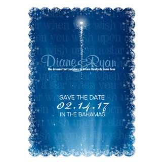 Wish Upon a Star Save the Date Card