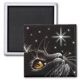 Wish Upon A Star - Square Magnet
