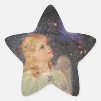 Wish Upon a Star Star Sticker