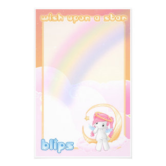 Wish upon a star stationery