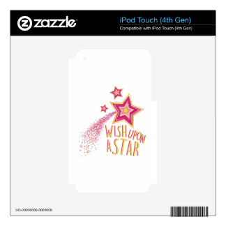 Wish Upon Star Decal For iPod Touch 4G