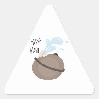 Wish Wash Stickers
