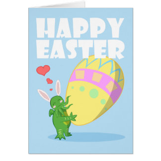 Wish you a Cthulhu Easter Greeting Cards