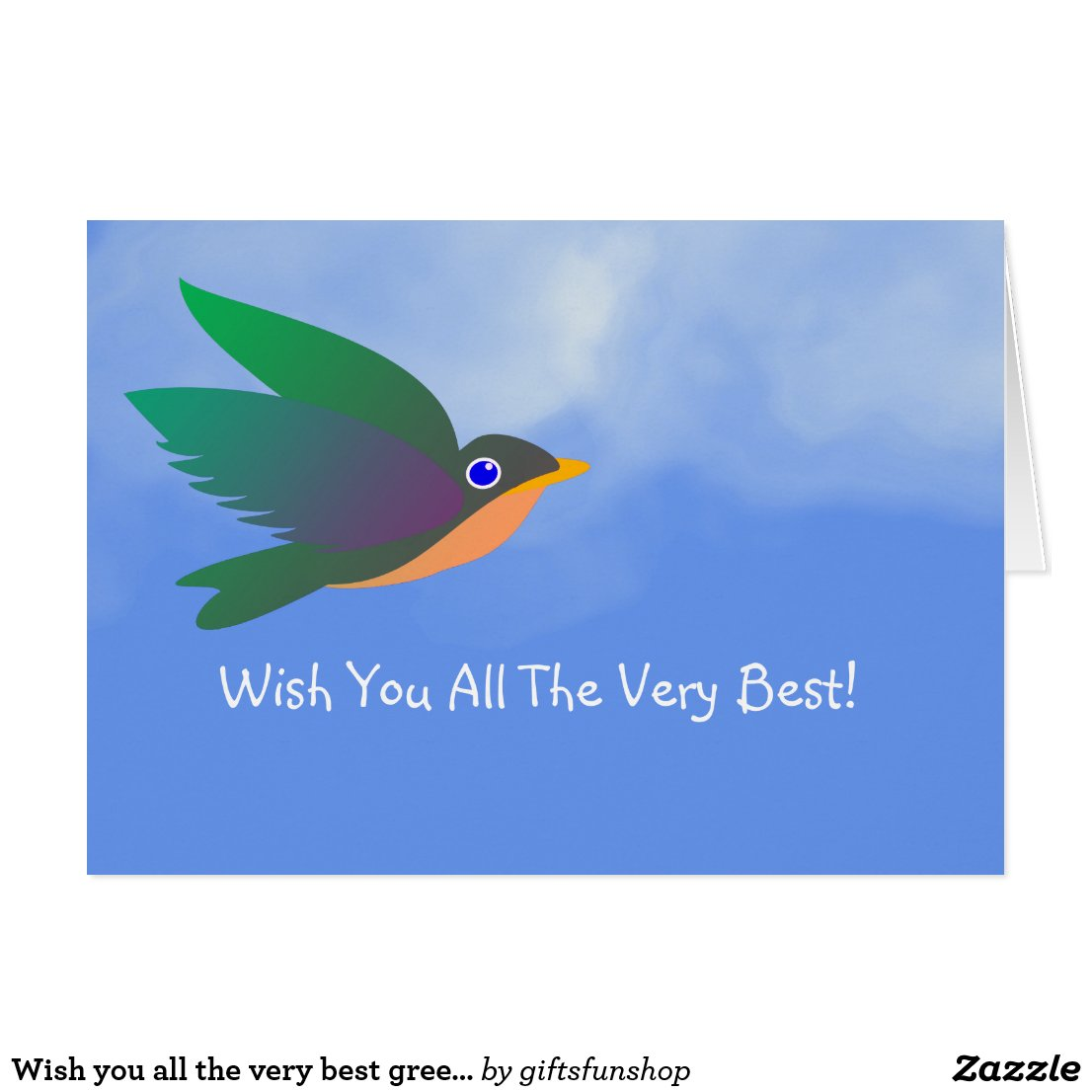 Wish you all the very best greeting card giftsspace kristyandbryce Image collections
