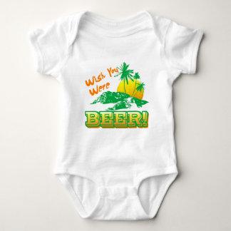 Wish you Were Beer Baby Bodysuit