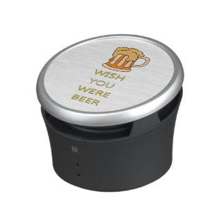 Wish you were beer funny design speaker