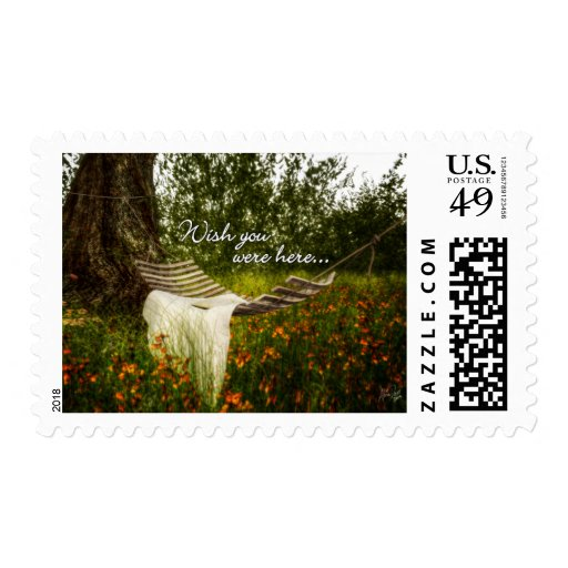 Wish You Were Here 140629 wording stamp Stamp