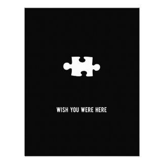 """Wish You Were Here 8.5"""" X 11"""" Flyer"""