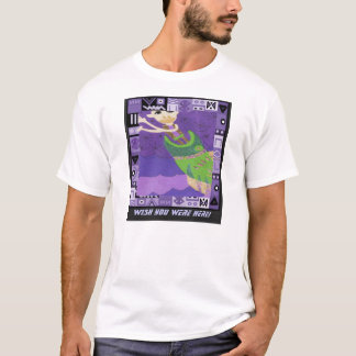 Wish you were here - Africa Art T-Shirt