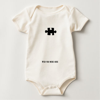 Wish You Were Here Baby Bodysuit