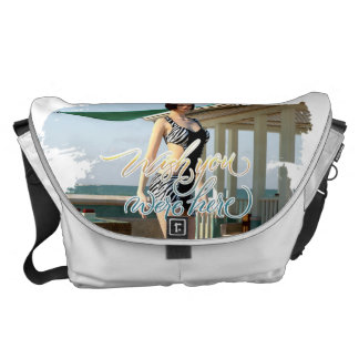 Wish You Were Here Belle Messenger Bag