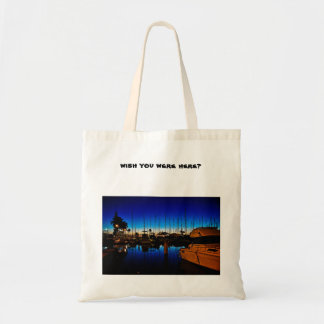 Wish You Were Here? Budget Tote Bag