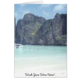 Wish You Were Here! Greeting Card