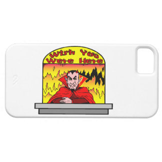 Wish You Were Here In Hell iPhone SE/5/5s Case