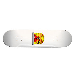 Wish You Were Here In Hell Skateboard Deck