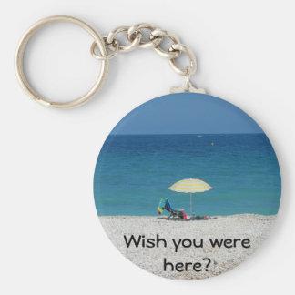 Wish you were here? keychain