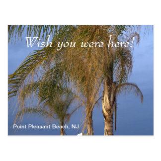 Wish you were here Point Pleasant Beach NJ Postcard