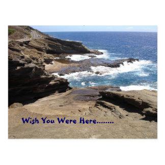 Wish You Were Here........ Postcard
