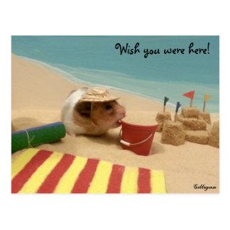 Wish you were here! postcard