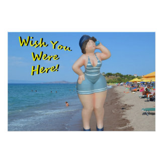 Wish You Were Here! Poster