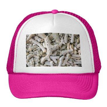 Beach Themed Wish you were here trucker hat