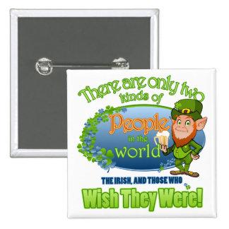 Wish You Were Irish (Ver 2) Button