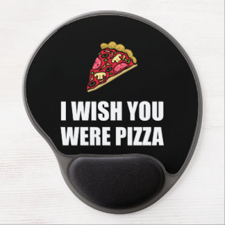 Wish You Were Pizza Gel Mouse Pad
