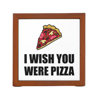 Wish You Were Pizza Pencil Holder