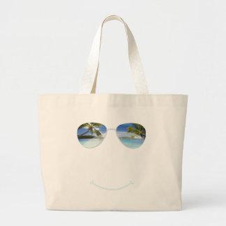 Wish you where here jumbo tote bag