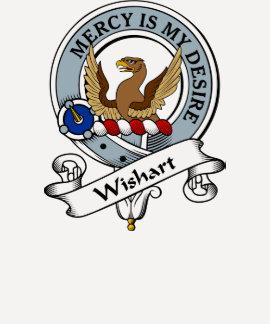 Wishart Clan Badge T-shirt