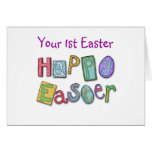 WISHES 1st EASTER BY THE BASKETFUL Greeting Card