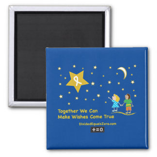 Wishes 2 Inch Square Magnet