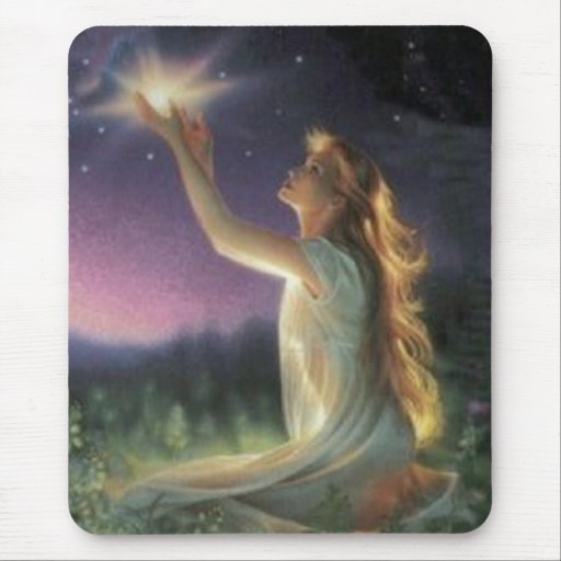 Wishes Amongst The Stars Mouse Pads