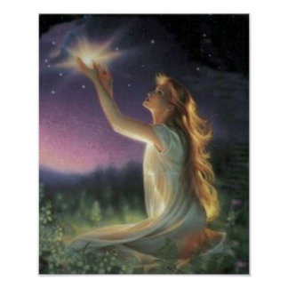 Wishes Amongst The Stars Print