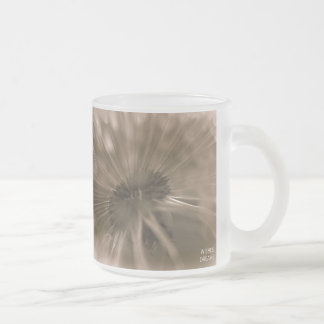 Wishes and Dreams Dandelion Frosted Mug