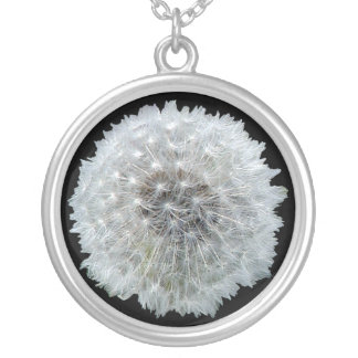 Wishes are Dandy Silver Plated Necklace
