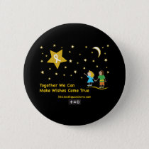 Wishes-Childhood Cancer Awareness Button