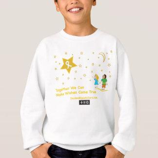 Wishes-Childhood Cancer Awareness Sweatshirt